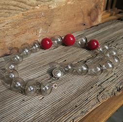 collana soffiate grigio rosso sito