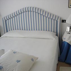 Testiera del letto
